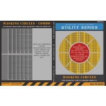 780 Masking Circles 1.75mm to 4.0mm