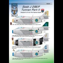 SAAB J29E/F Tunnan Pt.2
