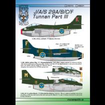 SAAB J29A/B/C/F Tunnan Pt.3