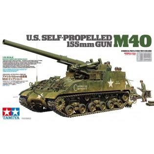 M40 US Self-propelled 155mm gun