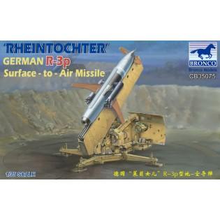 Rheinmetall Rheintochter R-3p German Surface-to-Air Missile