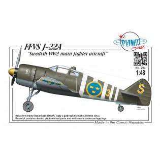 FFVS J22A Swedish WW2 main fighter aircraft