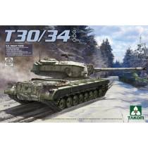 T30/34 US heavy tank