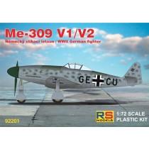 Messerschmitt Me309V-1 and Me309V-2