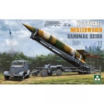 German V-2 Rocket Transporter/Erector Meillerwagen + Hanomag SS100