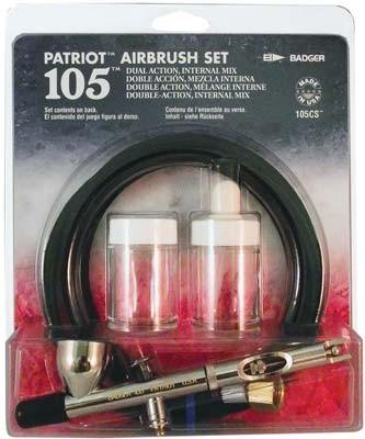 Badger 105CS Patriot set