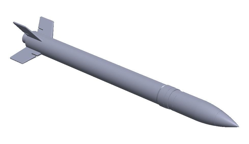 1 x 13,5 cm raket m/56