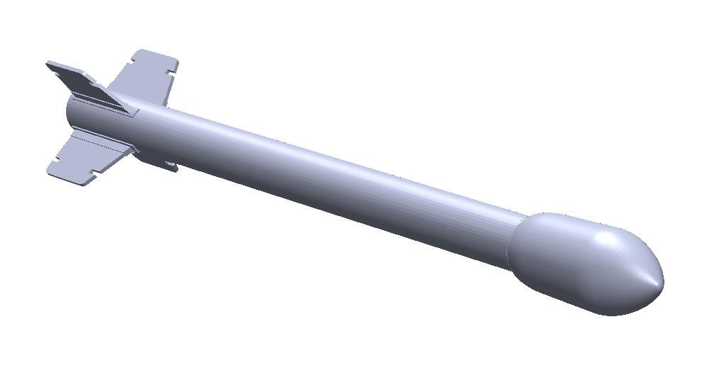 1 x 15 cm raket m/51