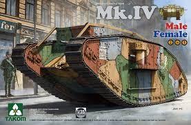 WW I Heavy Battle Tank Mk.IV (2 in 1) Special Edition