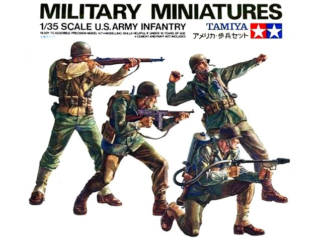 US Army infantry (4 fig.)