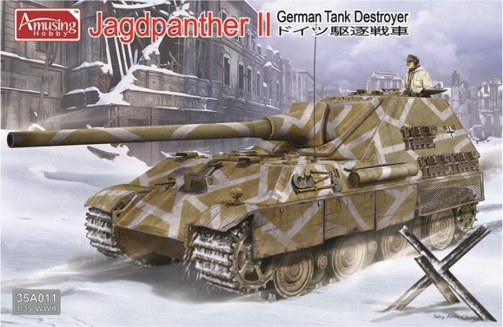 Jagdpanther II, German Tank Destroyer