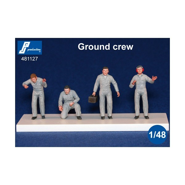 Modern Ground Crew, 4 pcs.