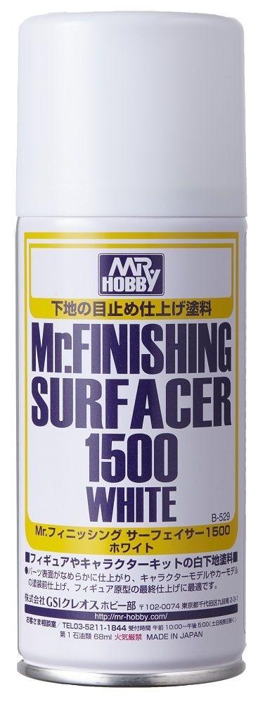 Mr. Finishing Surfacer White 1500, 170 ml aerosol