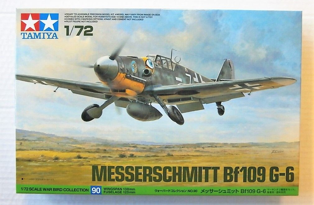 Bf109G-6 NEW TOOLING