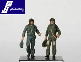RAF pilots, standing, modern, 2 pcs.