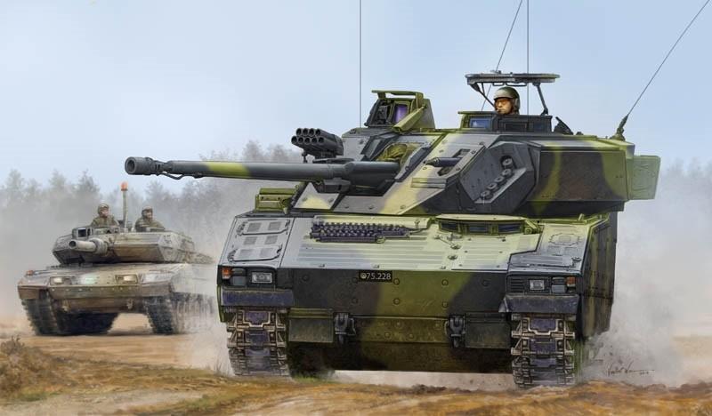 Swedish CV9035 (Danish gun barrel) IFV