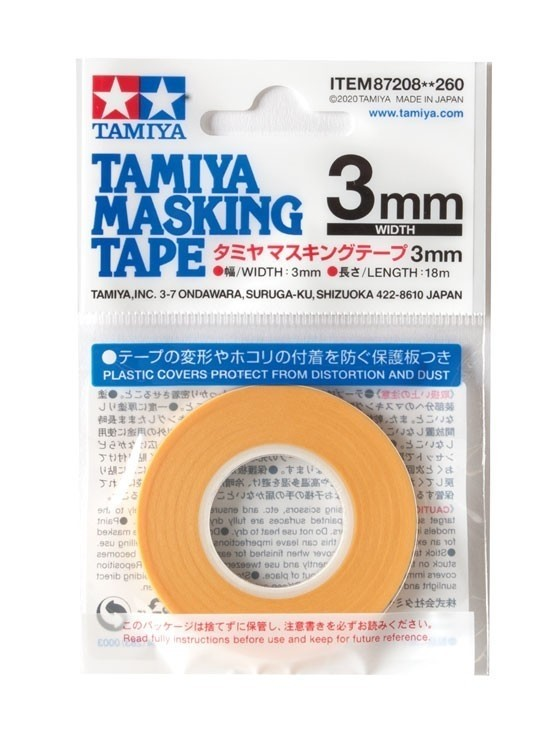 Maskeringstape 3 mm, 18 meter