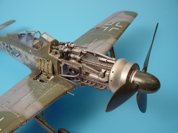 Fw190D gun bay HAS