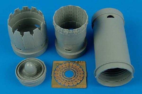 F-16C block 30/40/50/60 exhaust nozzle TAM