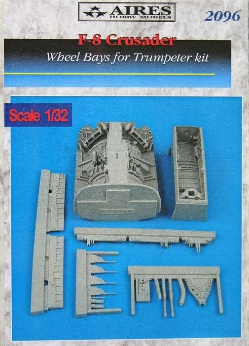 F-8 Crusader wheel bay TRUMP