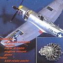 P-47N Thunderbolt detail set ACA