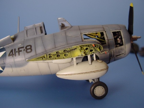 F4F Wildcat wingfold set TAM