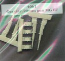 MG FF 20 mm guns