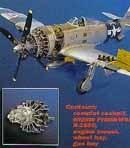 P-47D Thunderbolt detail set for HAS