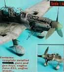 Ju87D Stuka detail set