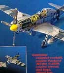 P-51D Mustang detail set for Tamiya