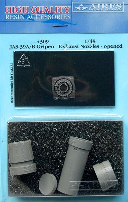 JAS39A/B Gripen exhaust nozzle open ITA