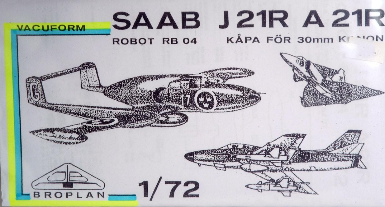 J21R konvertering plus Rb04