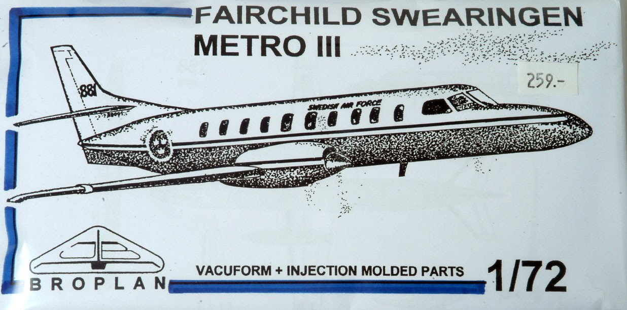Fairchild Metroliner III VIP
