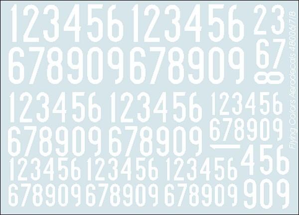 Vita siffror 1936-62, smala