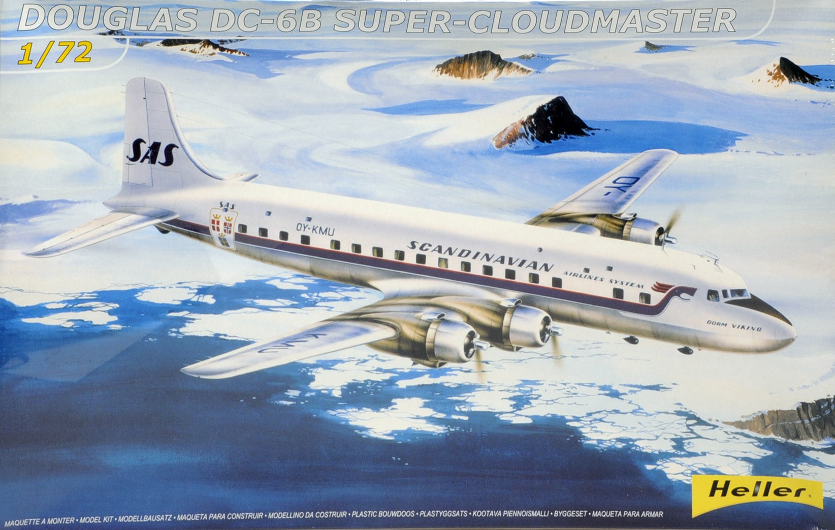 DC-6B Cloudmaster Scandinavian Airline System