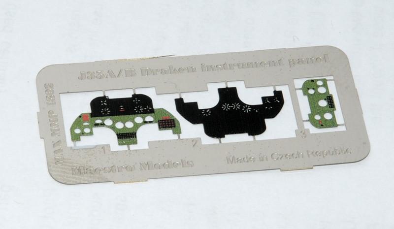 J35A/B Draken instrumentpanel