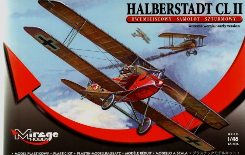 Halberstadt CL II with P/E.