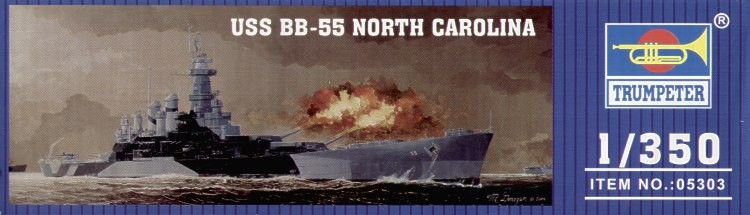 USS BB-55 North Carolina Battleship