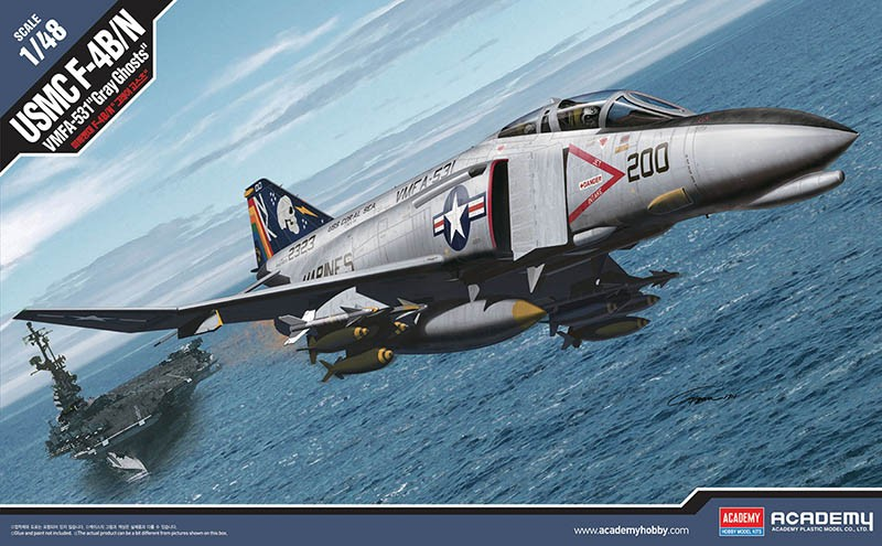 F-4B/N Phantom VMFA-531 Gray Ghosts