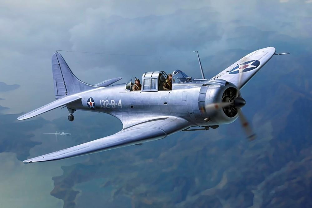 Douglas SBD-1 Daintless Pearl Harbour