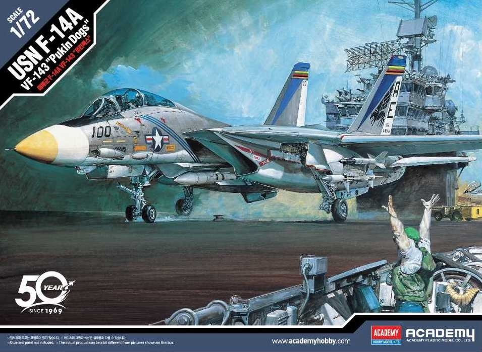 F-14A Tomcat VF-143 Pukin Dogs New Tool 2019