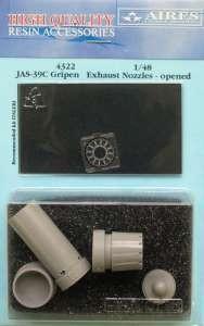 JAS39C Gripen exhaust nozzle - open ITA