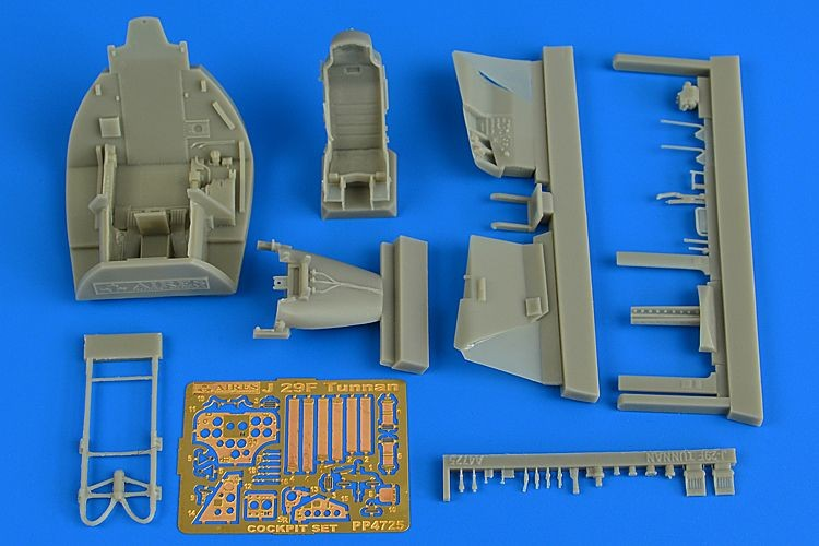 SAAB J29F Tunnan cockpit set (for Pilot Replicas)
