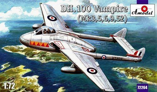D.H. 100 Vampire Mk.3 / 5 / 6 / 9 / 52 (J28)