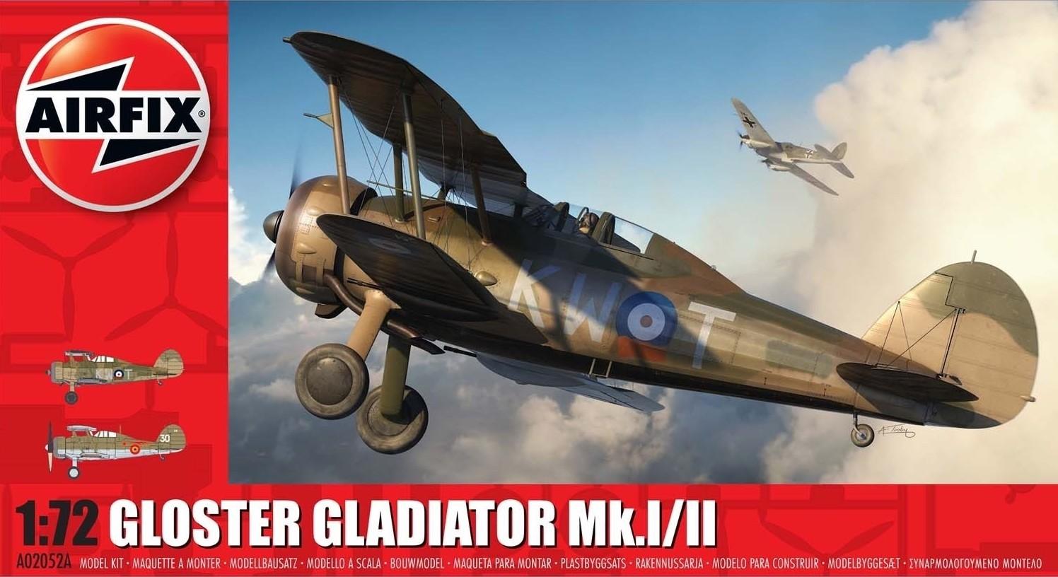 Gloster Gladiator Mk.I NEW TOOLING