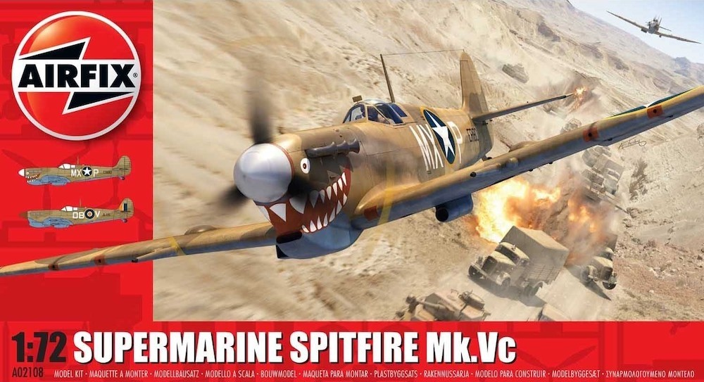 Spitfire Mk.Vc NEW TOOL IN 2020!