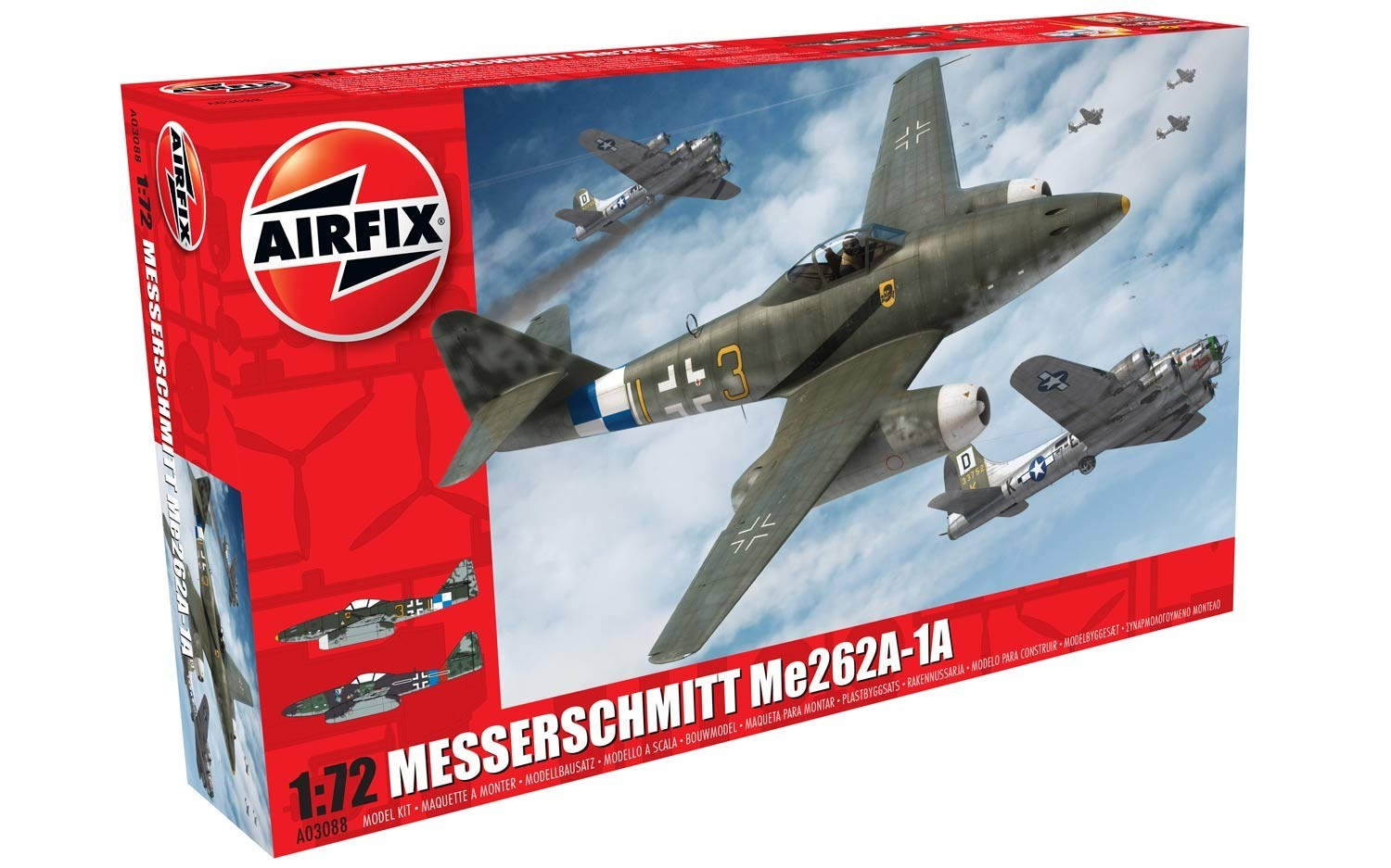Me262A-1a Schwalbe NEW TOOL
