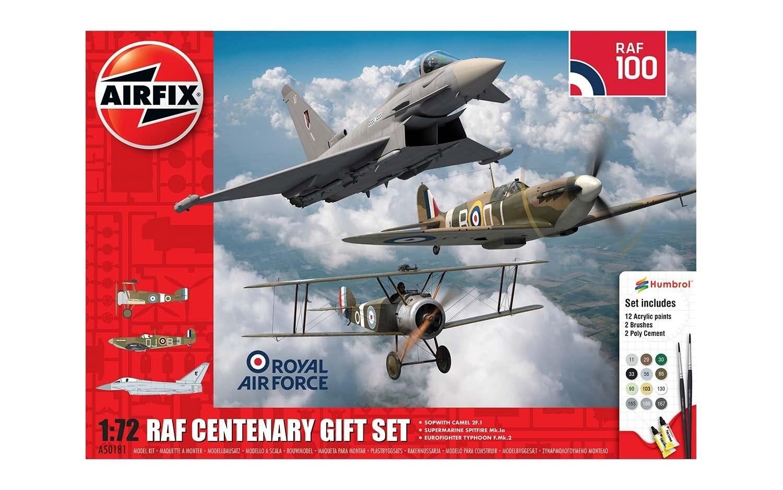 RAF Centenary Gift Set. 3 kits plus tools.