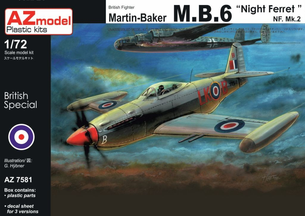 Martin-Baker MB.6 Night Ferret
