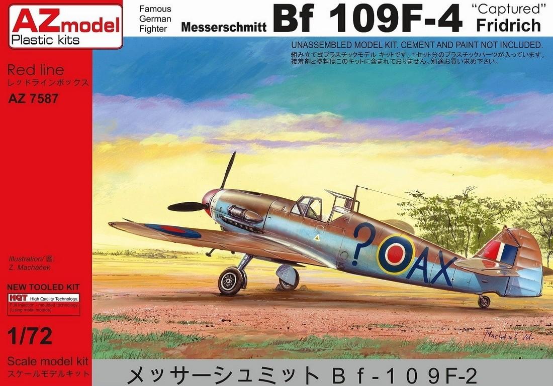 Bf109F-4 Captured, 2 RAF and 1 USAAF
